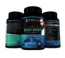 Epic Beard Growth Formula-by ProActive Nutrients