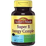 Nature Made Super B Complex Full Strength Mini Softgels 60 Ct
