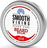 Beard Balm with Leave-in Conditioner- Styles, Strengthens & Thickens for Healthier Beard Growth, While Argan Oil and Wax Boost Shine...