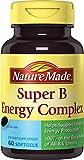 Nature Made Super B Complex Full Strength Softgel, 60 Ct
