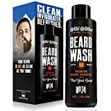 Wild Willies Beard Wash shampoo.The perfect, all natural way to keep your beard clean. Made from wholesome ingredients and packed with organic essential oils to clean and condition all beard types.