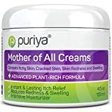 Puriya Cream For Eczema, Psoriasis, Dermatitis and Rashes. Powerful Plant Rich Formula Provides Instant and Lasting Relief For Severely Dry, Cracked, or...