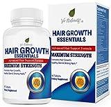 Hair Vitamins for Faster Hair Growth - Advanced Hair Growth Essentials Supplement for Hair Loss - 29 Powerful Hair Growth Vitamins &...