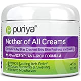 Puriya Daily Moisturizing Cream for Dry, Itchy and Sensitive Skin, Face and Body, Mother of All Creams for Extra Care of Skin Redness...