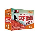 Beef Bone Broth Powder by LonoLife, Grass Fed, 10g Collagen Protein, Keto & Paleo Friendly, Low-Carb, Gluten Free, Single Serve Cups...