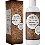 Fractionated Coconut Oil for Skin Care - Refined Coconut Oil Liquid Massage Oil and Anti Aging Body Oil - Fractionated Coconut Oil for...