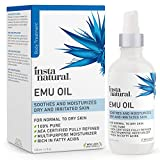Emu Oil - AEA Certified Pure Moisturizer for Strengthened Hair, Stretch Marks, Scars, Joint & Muscle Pain - For Body, Skin, Eyes, Face...