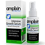Amplixin Intensive Hair Growth Serum Against Hair Loss, Receding Hairline and Baldness, Infused with Biotin and Caffeine, Promotes...