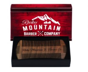 The Rocky Mountain Beard Comb