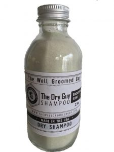 Dry Hair Shampoo for Men by The Well Groomed Guy
