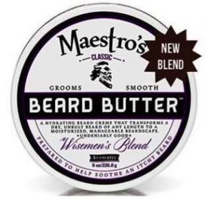 Maestro's Classic Beard Butter in Wiseman's Blend