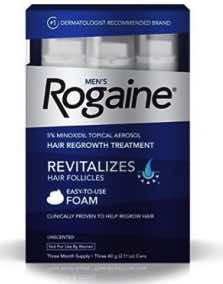 Men's Rogaine Hair Regrowth Treatment