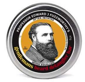 Professor Edward J Fuzzworthy's Gentleman's Beard Detangler Bar