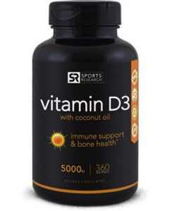 Sports Research Vitamin D3