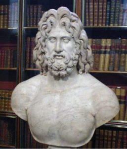 Zeus had a beard