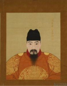 The Hongzhi Emperor of the Qing Dynasty