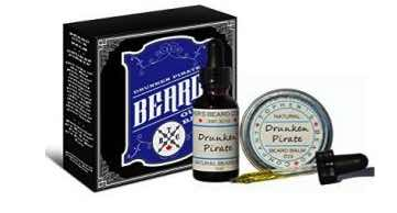 This beard oil and beard balm kit from Topher's Beard Company