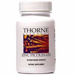 Thorne Research Zinc Picolinate