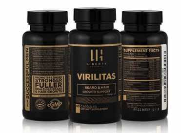 Virilitas Beard & Hair Growth Support