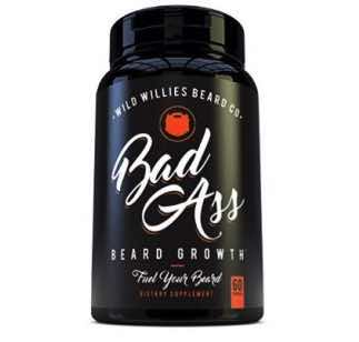 Wild Willies Bad Ass Beard Growth Dietary Supplement