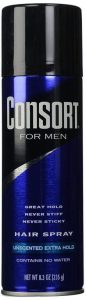 Consort Unscented Extra Hold Aerosol Hairspray