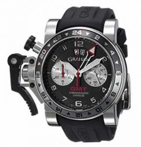 Graham Men's 2OVGS.B39A.K10S Chronofighter Analog Display Swiss