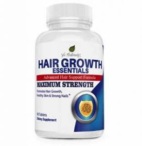 Hair Growth Essentials Pills Supplement