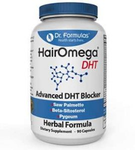 HairOmega DHT Blocker and Vitamins for Hair Growth