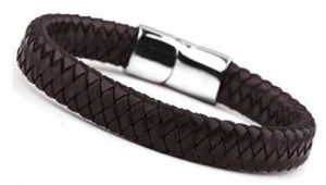 Jstyle Braided Leather Bracelets for Men