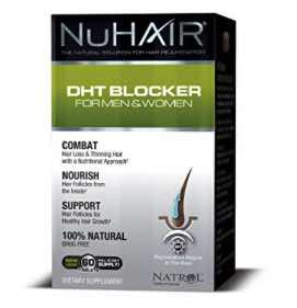 Nu Hair DHT Blocker Hair Regrowth Support Formula Tablets