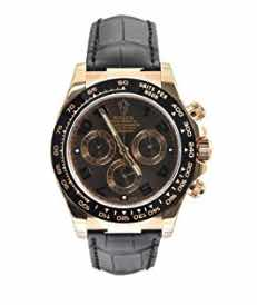 Rolex Daytona Pink Gold Strap Watch