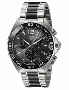 TAG Heuer Men's'Formula 1' Swiss Quartz Stainless Steel Dress Watch, Model CAZ1011.BA0843
