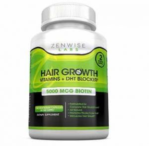 Zenwise Labs Hair Growth Vitamins Supplement