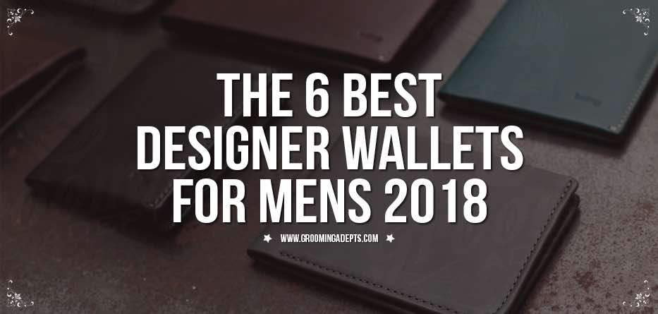 best designer wallets for men