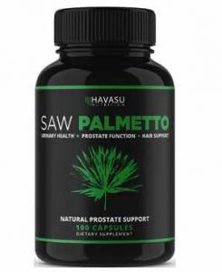 Extra Strength Saw Palmetto Supplement and Prostate Health