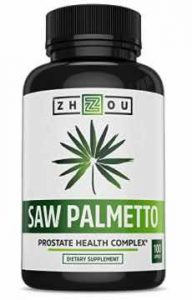 Saw Palmetto Supplement for Prostate Health by Zhou Nutrition