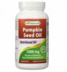 Best Naturals Pumpkin Seed Oil Capsules