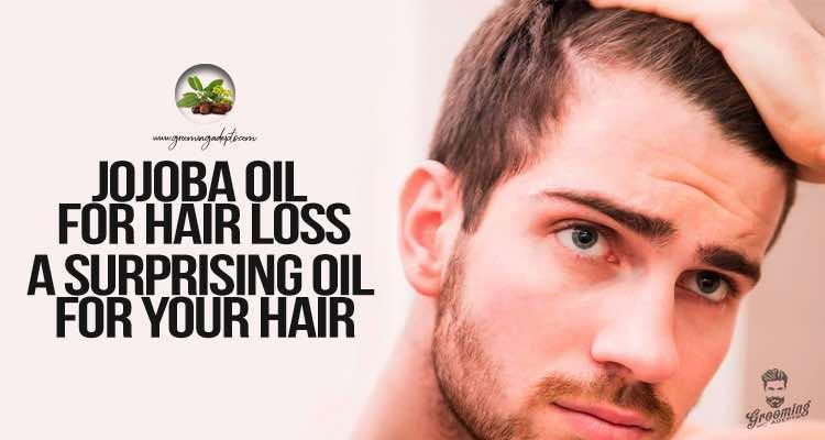 Use jojoba oil for hair loss