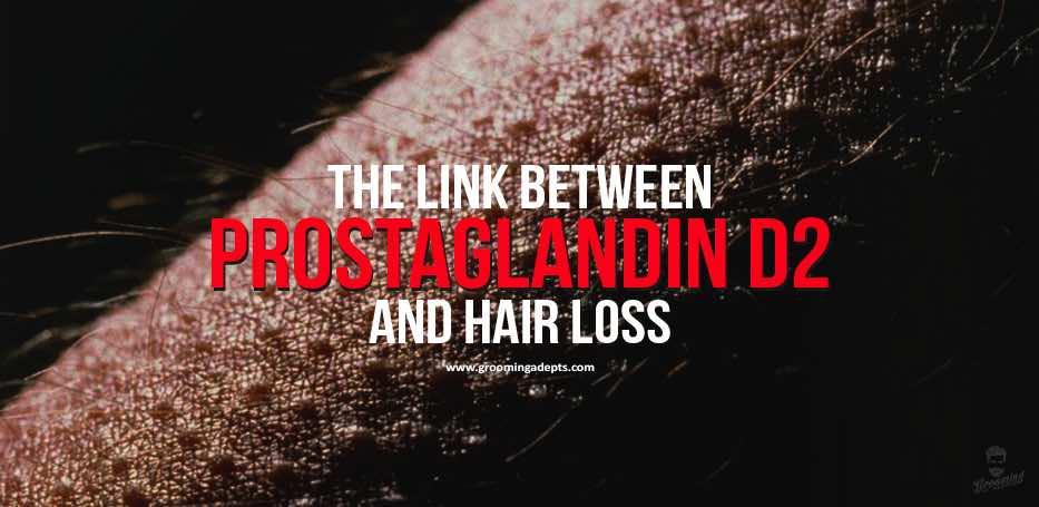 PGD2 and hair loss