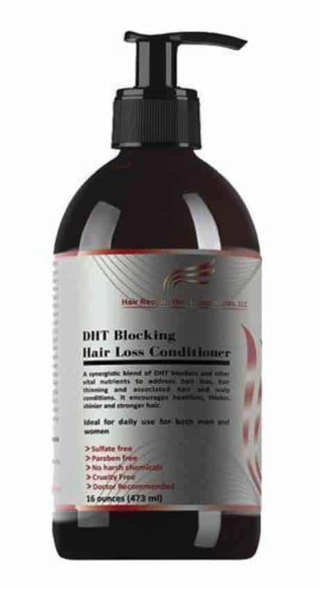 Hair Restoration Laboratories' DHT blocking hair loss conditioner